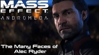 Mass Effect: Andromeda | The Many Faces Of Alec Ryder (9 Presets) #1