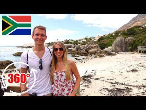360 Grad Video: Pinguine und das Kap der Guten Hoffnung - Südafrika | 360 Video Virtual Reality