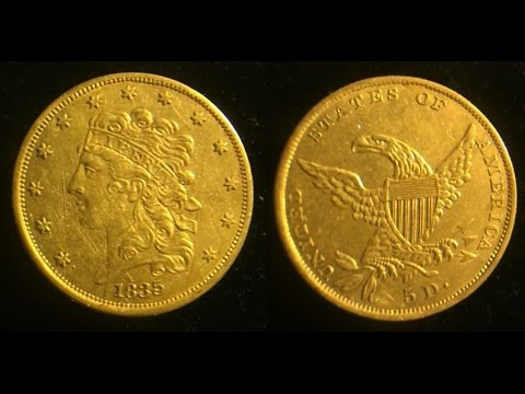 CA Relic Hunting / Metal Detecting Adventures: Ron scores a $5 GOLD COIN !!