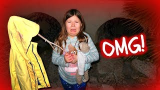 YOU WON'T BELIEVE WHAT WE FOUND IN A HAUNTED TUNNEL AT THE PARK! skit