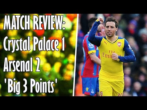 Crystal Palace v Arsenal 1-2 | Match Review