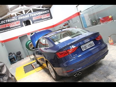Já levamos o novo Audi A3 Sedan para o dinamômetro