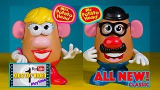 Playskool Classic Mr Potato Head and Mrs Potato Head Toy Video