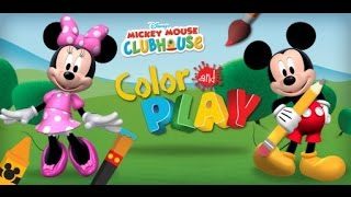 Mickey Mouse Clubhouse Color & Play Part 1 - best iPad apps for kids