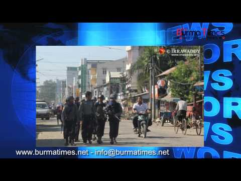Burma Times TV daily News 29 March 2015