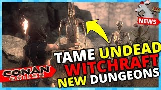 CONAN EXILES Witchcraft! Giants Pets! Underwater City! New Boss's New Dungeons! Turan Dlc!