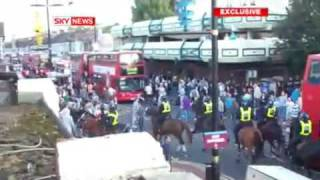 London Riot - Football Violence - Millwall v West Ham Derby