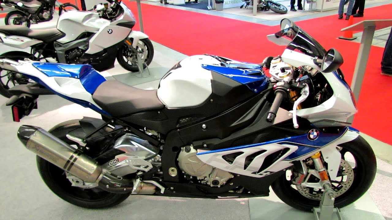 2014 BMW S1000RR HP4 Walkaround - 2014 Montreal Motorcycle ...