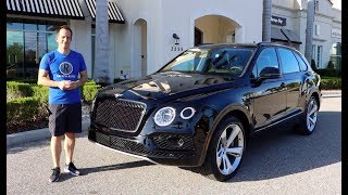Is the new 2019 Bentley Bentayga the World's MOST luxurious SUV?