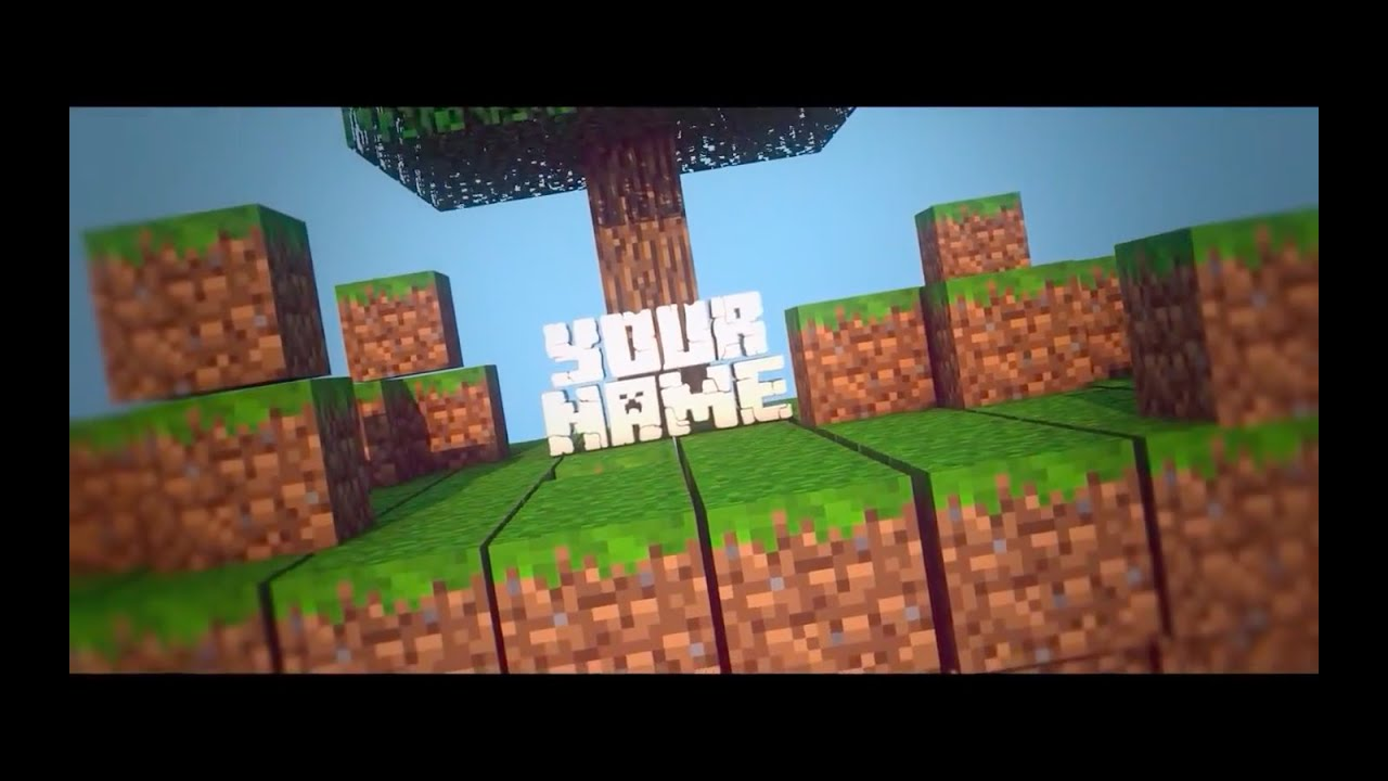 Top 20 Best Free Minecraft Intro Templates Sony Vegas