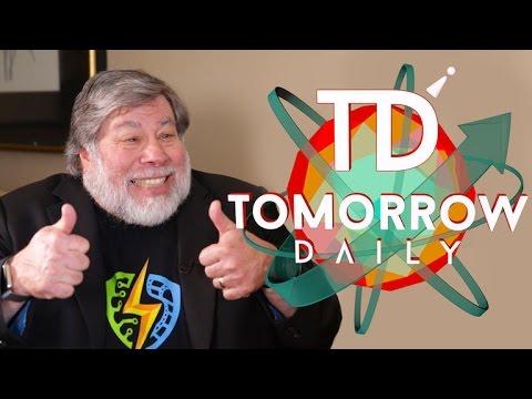 Steve Wozniak explains 'Woz's Law of Robotics' to us (Tomorrow Daily 329)