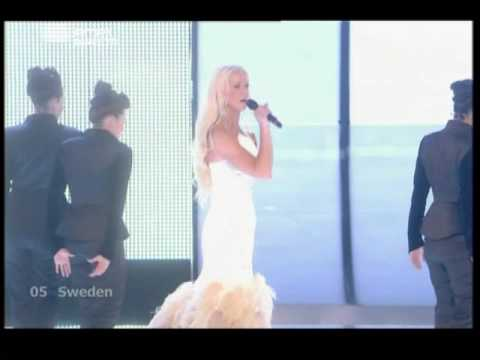 Eurovision 2009 First Semi-final - Sweden (HQ) klip izle
