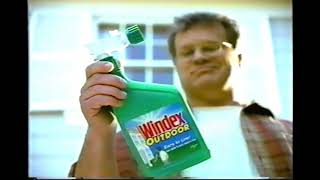 Windex Outdoor Cleaner Commercial 1998