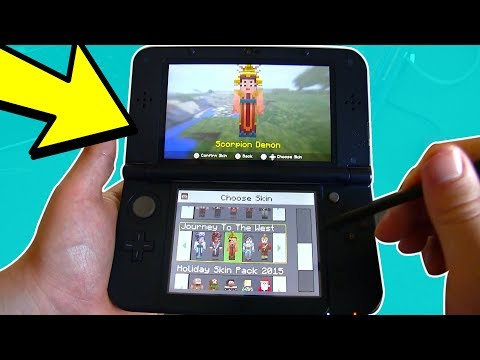 Playing MINECRAFT Nintendo 3DS EDITION !!! (GAMEPLAY)