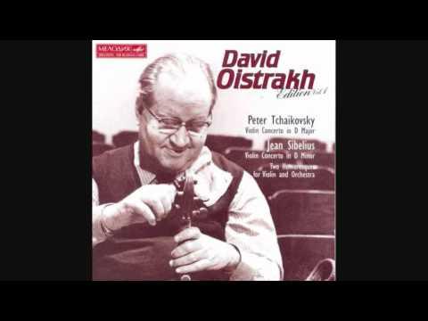 Piotr Ilych Tchaikovsky: Concierto para violín en Re Mayor, op. 35 [Oistrakh]