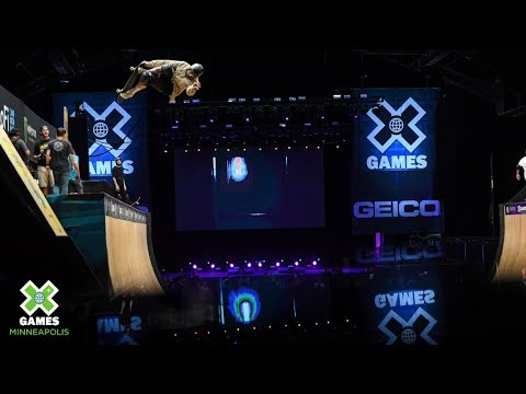 Skateboard Vert Elimination | X Games Minneapolis 2019