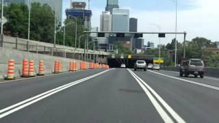 Ville Marie Expressway (Autoroute 720) eastbound