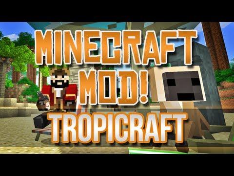 Minecraft Mod! Tropicraft 3.0 - Tropical Realm!