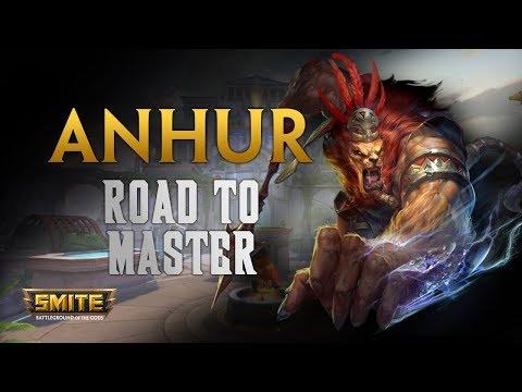 SMITE! Anhur, Impale y pal otro barrio! Road To Master Conquest S5 #3