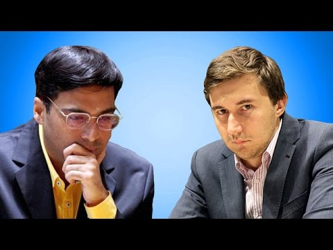 2016 Candidates Chess Tournament - Viswanathan Anand vs Sergey Karjakin  - Round 11
