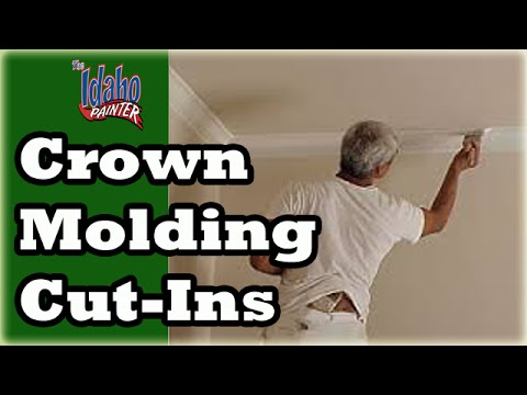 Cut In Tips For Crown Molding & Ceilings