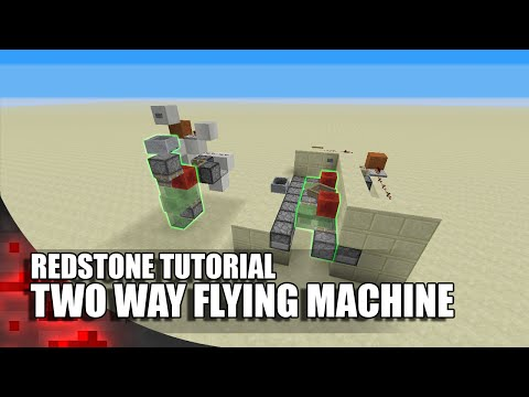 how to build a flying machine in minecraft xbox 360
