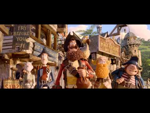The Pirates! Band of Misfits - OFFICIAL TRAILER HD -LKM-xxtBJm8