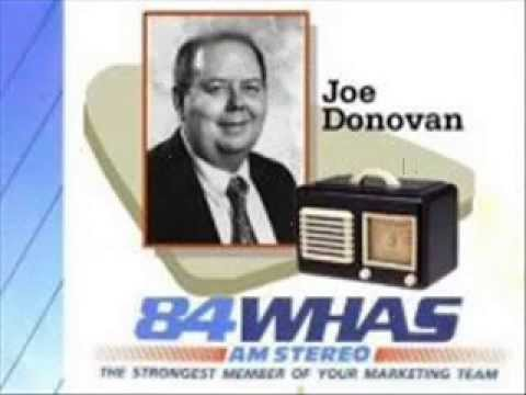 Joe Donovan - Rock & Roll Oldies radio aircheck (WHAS AM 840, Louisville KY, 1996)