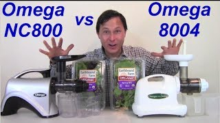 Hurom Juicer Vs Omega 8006 : Differences Between Omega 8004 8006 8007 8008 NC800 NC900 Juicers. ???????, ??????, ?????? ????