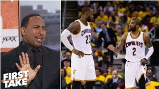 Stephen A. loves Kyrie saying leaving LeBron 'was best thing I've done' | First Take