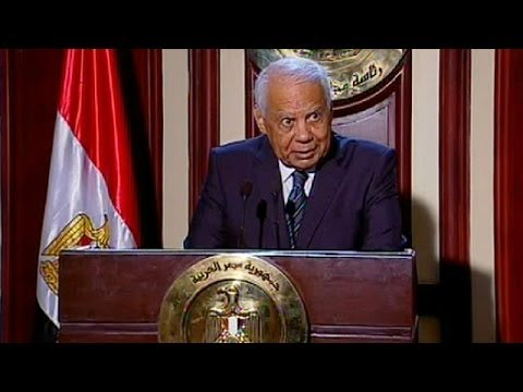 Unexpected resignation of Egypt's government