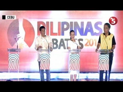 Di pagkakaunawaan sa ilang panuntunan, naging antala sa debate sa Cebu