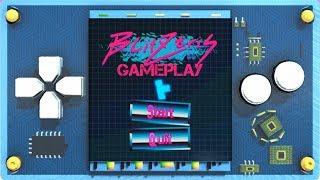 Blitztris - Gameplay (brain melting bullet hell/Tetris)