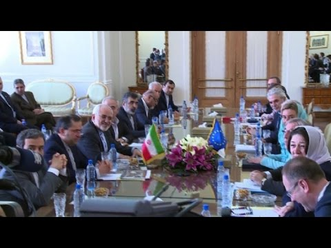 EU foreign policy chief visits Iran (2)