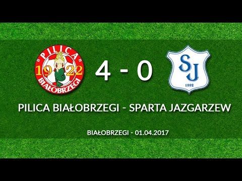 01.04.2017 - Pilica Białobrzegi - Sparta Jazgarzew (4-0) - Cały Mecz