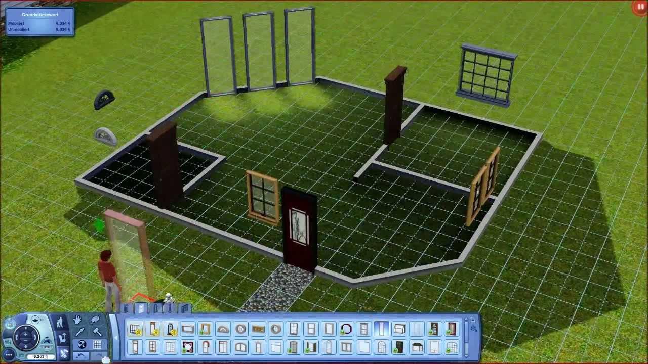 1 let 39 s play sims 3 mein h usle bauen die schwere for Innendesigner werden