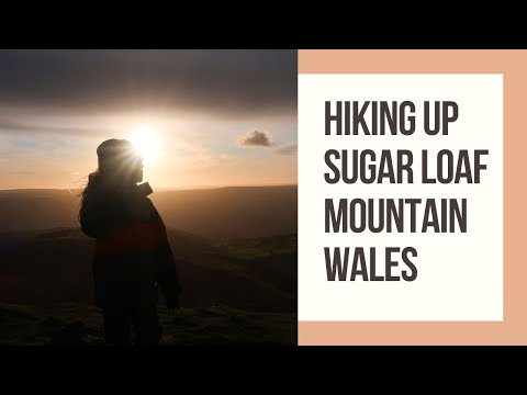 Hike up Sugar Loaf Mountain Wales with kids