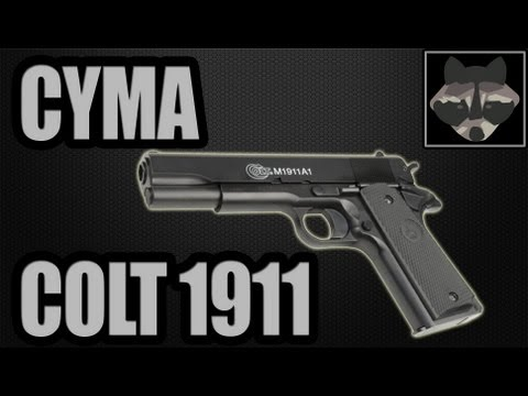 CYMA Colt 1911 AEP (CM.123) - Airsoft Review [HD]