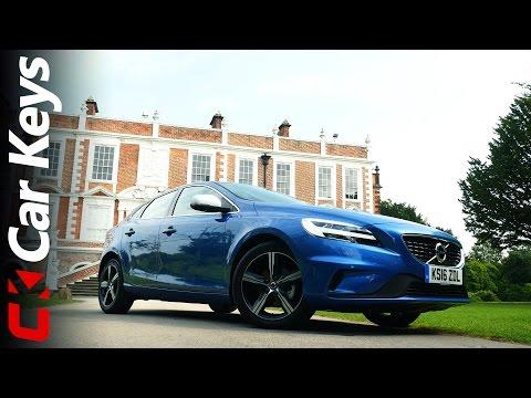 Volvo V40 4k 2016 Review Car Keys