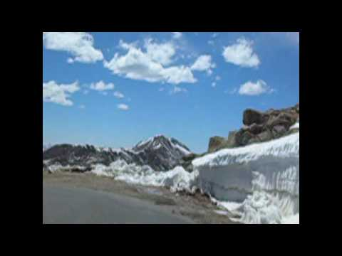 0 Bike Cam: Out of the Sky...  bicycling at 14000 ft (4300 m)