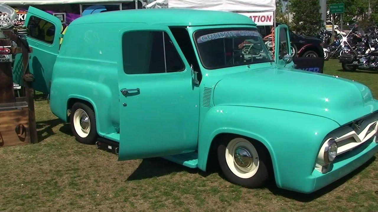 1950 ford panel truck youtube. Black Bedroom Furniture Sets. Home Design Ideas