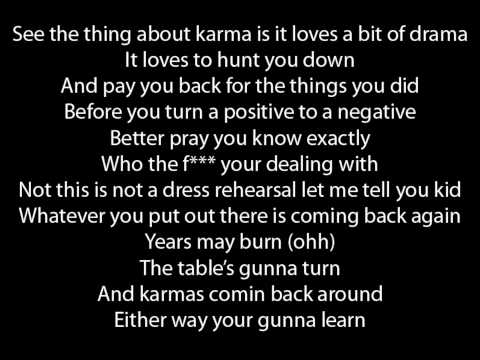 letra cancion what goes around: