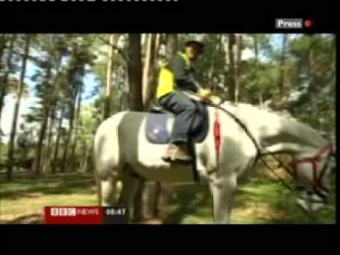 TREC. British Horse Society TREC. BBC Sports coverage.