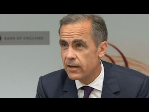 Mark Carney: Many factors will decide when interest rates start to rise