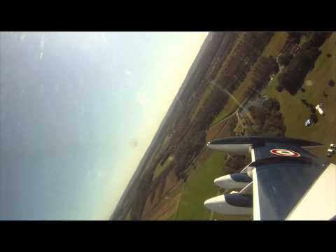 FPV GoPro HD inside 1/4 scale Aermacchi MB339 RC Jet ( Skymaster) at Hamburg PA