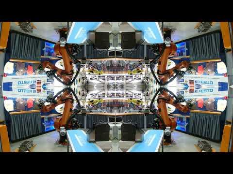 Roboter im Technik Museum Sinsheim Prismenvideo 4K