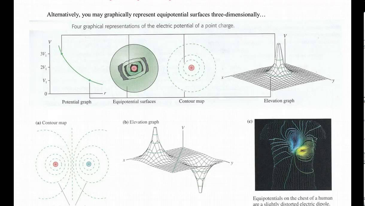 Potential Field Lines With Electric Field Lines