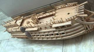 flying dutchman model ship
