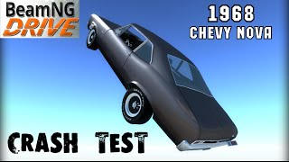 BeamNG DRIVE crash test mod car 1968 Chevy Nova