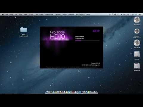 PRO TOOLS - Como Instalar o Pro Tools 10.3.10 no Mac Os X Mountain Lion 10.8.5 - By Gil Lima
